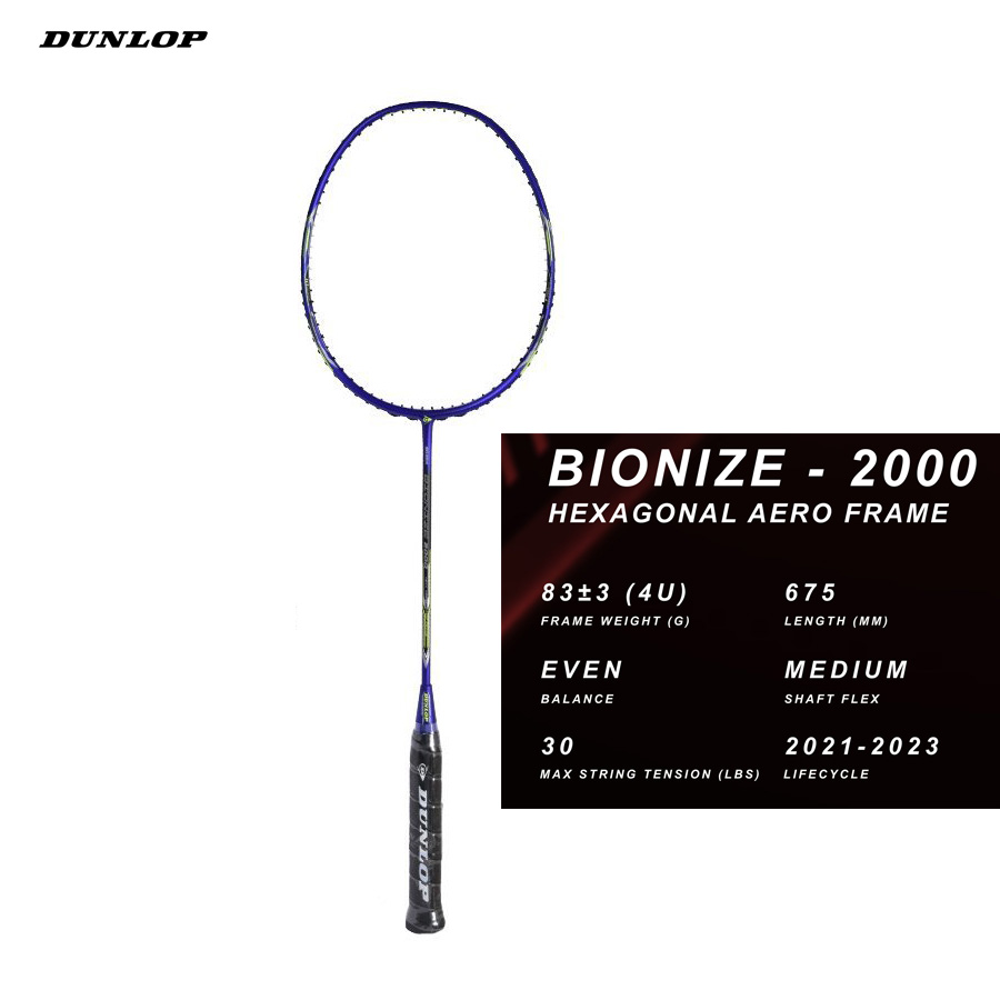 Vợt cầu lông Dunlop Bionize 2000 G6 - vợt cân bằng