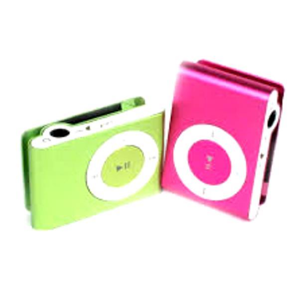 Máy Nghe Nhạc MP3 Mini Vỏ Nhôm, Kẹp Áo  Hỗ Trợ Thè Nhớ TF - Hàng nhập khẩu (Giao Màu Ngẫu Nhiên)
