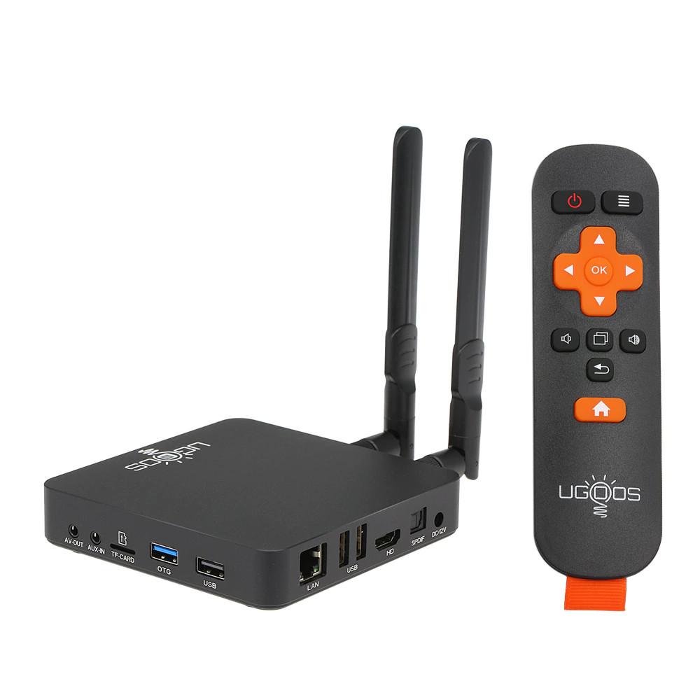 Android TV Box Ugoos AM6 Plus - Amlogic S922X-J 2.2GHz with Dolby Audio - Hàng chính hãng