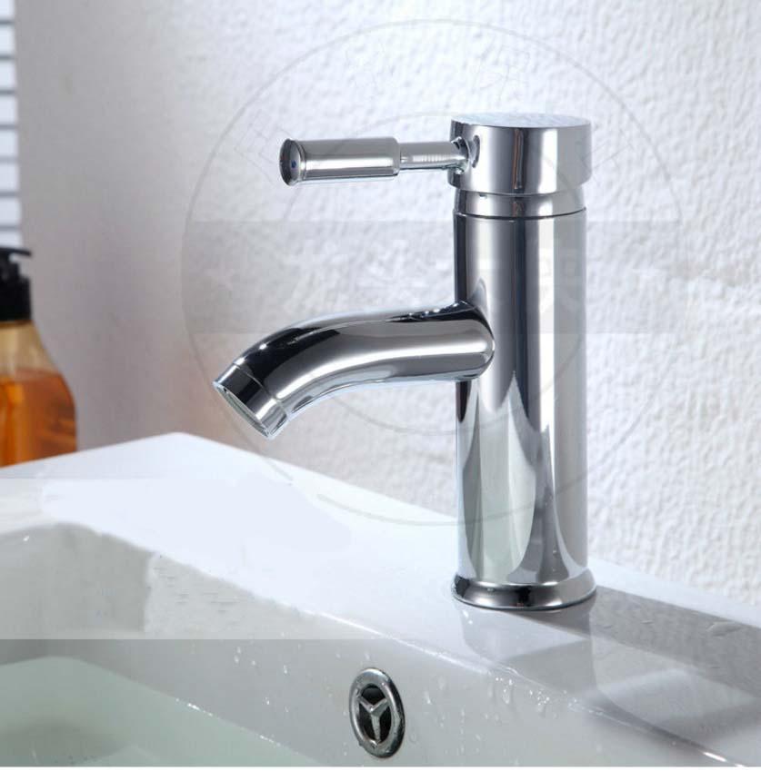 Vòi lavabo chất liệu inox cao cấp LVB001