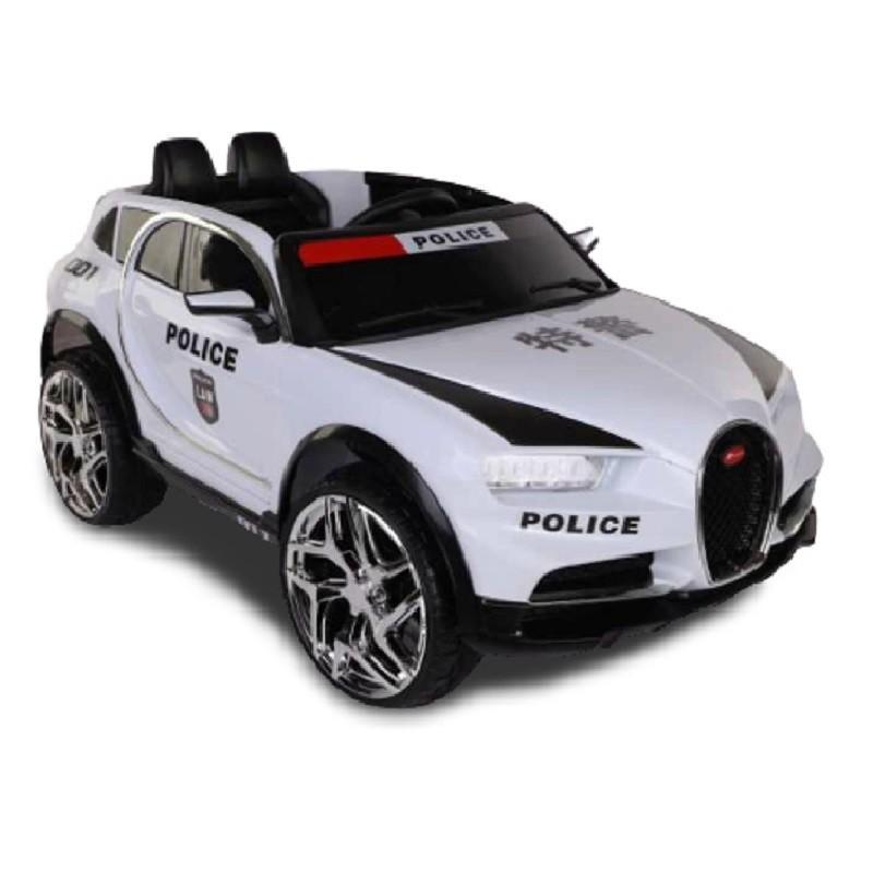Ô tô xe điện đồ chơi DUCAIT JM2189 vận động cho bé 2 chỗ tự lái và điều khiển từ xa (Đỏ-Trắng-Xanh)