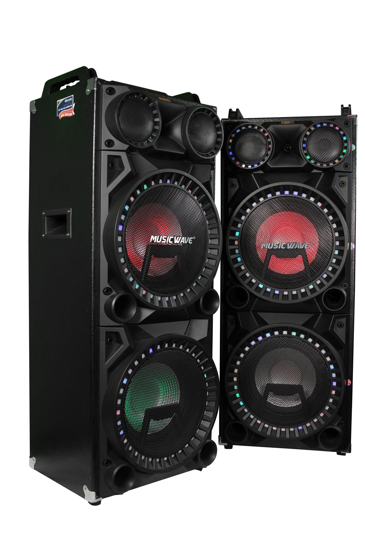 Loa active MUSICWAVE MS-2300 (Bộ 2 loa + Tặng kèm Micro GUINNESS M-810D) | Hàng Nhập Khẩu