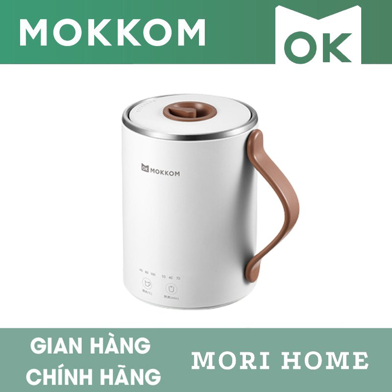 Cốc Điện Đa Năng Mokkom Mini 350ml - Hàng Chính Hãng