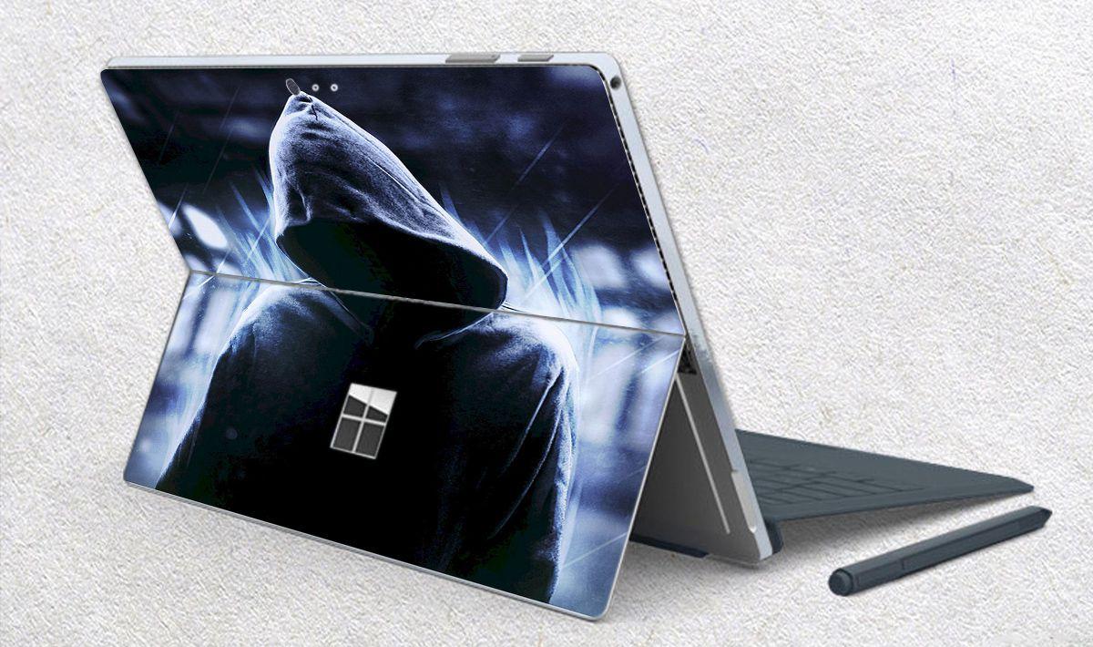 Skin dán hình Anonymous cho Surface Go, Pro 2, Pro 3, Pro 4, Pro 5, Pro 6, Pro 7, Pro X