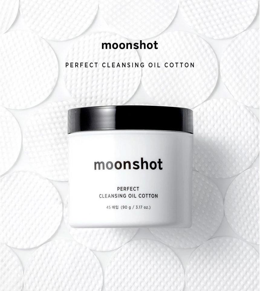 Bông Tẩy Trang Moonshot Cleansing Oil Cotton