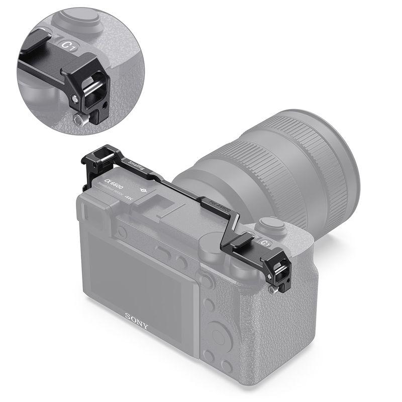 Phụ Kiện SmallRig Shoe Mount Relocation Plate For Sony A6600 Camera BUC2498 - Nhập Khẩu