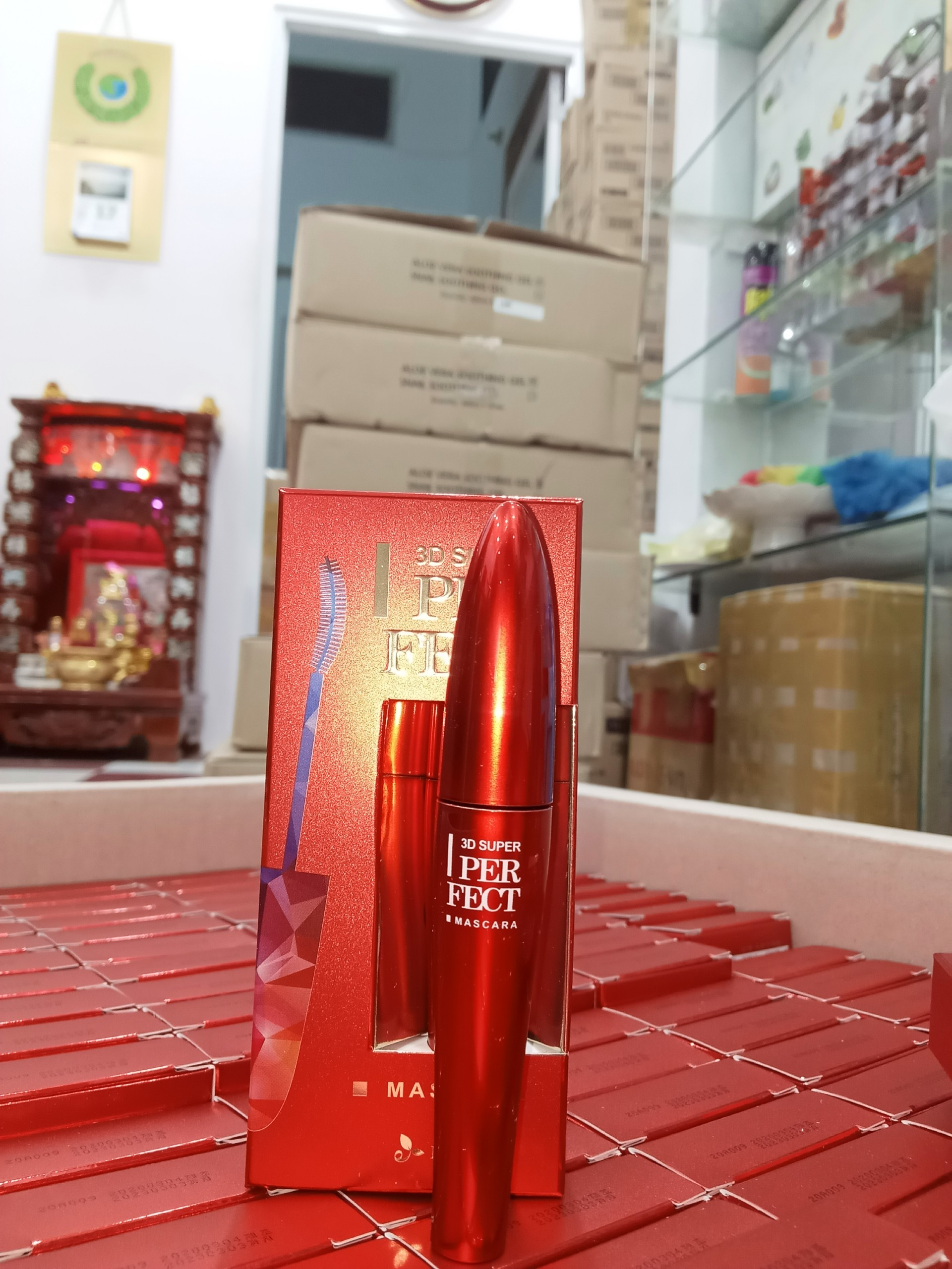 MARCARA ECOSY SUPER PERFECT 3D RED