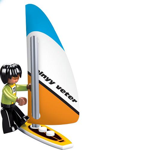 Đồ chơi lắp ráp đội cứu hộ bãi biển TINITOY (172 pcs) YY686853