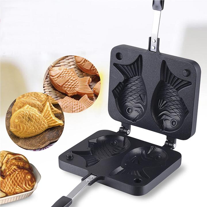 Khuôn Nuớng Bánh Cá Taiyaki Chống Dính