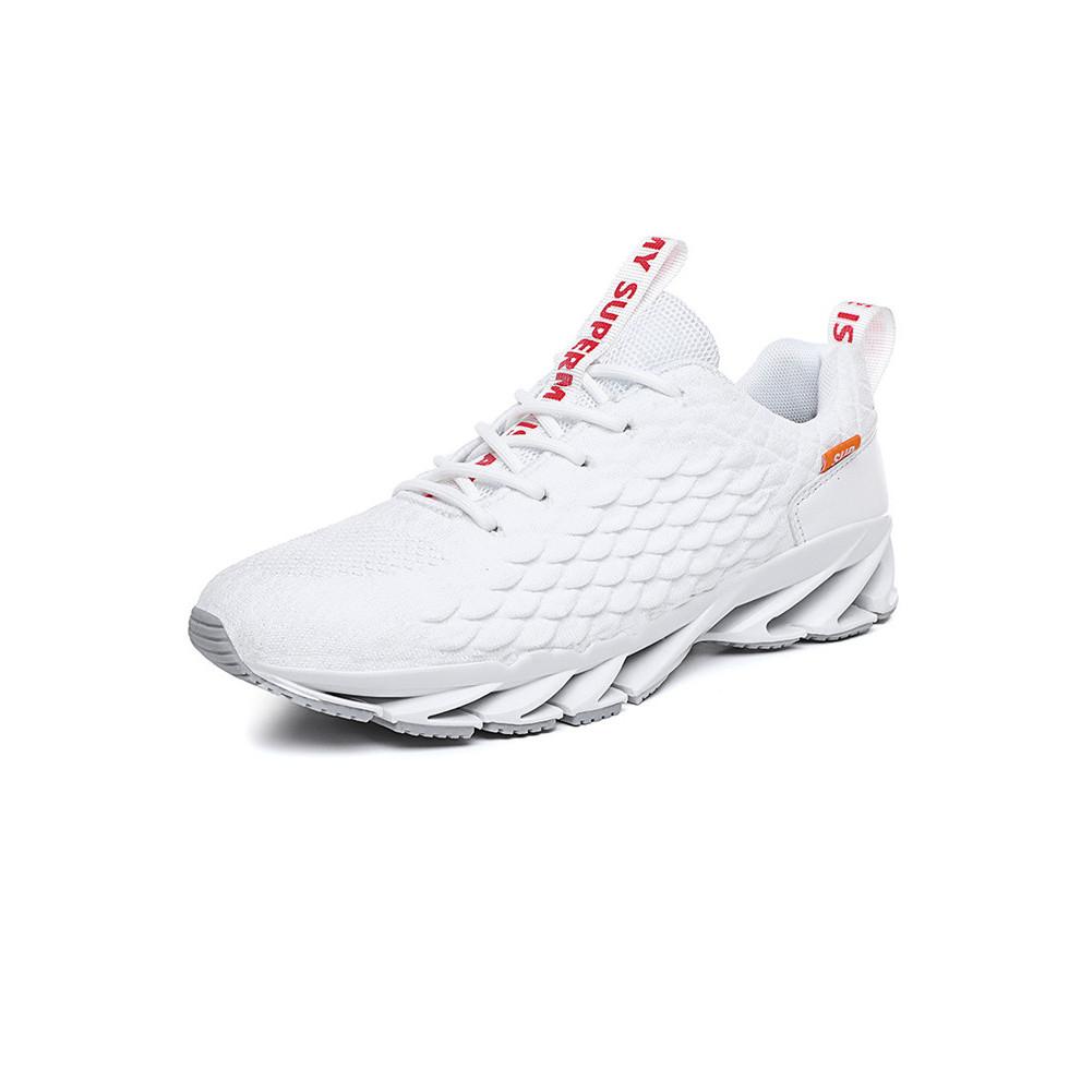 Giày nam thể thao sneaker cao cấp phong cách Hàn Quốc đế sóng vải sợi thoáng khí mẫu mới nhất GN328