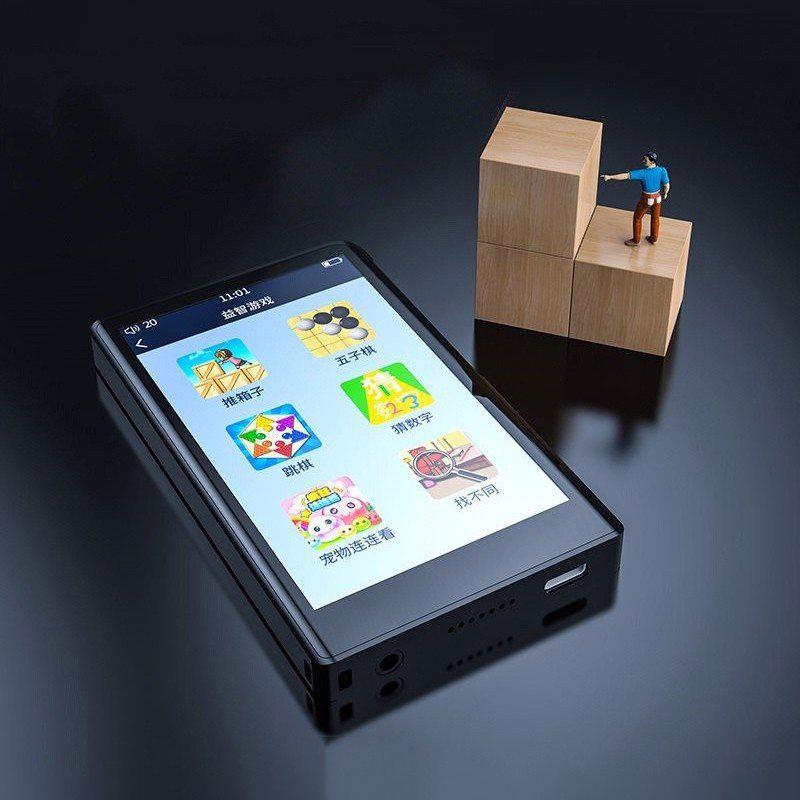 Ruizu H9 - Máy Nghe Nhạc Lossless, Bluetooth 5.0, Màn Hình Cảm Ứng, Xem Video Full HD, Có Loa Ngoài (16GB) - Hàng Chính Hãng