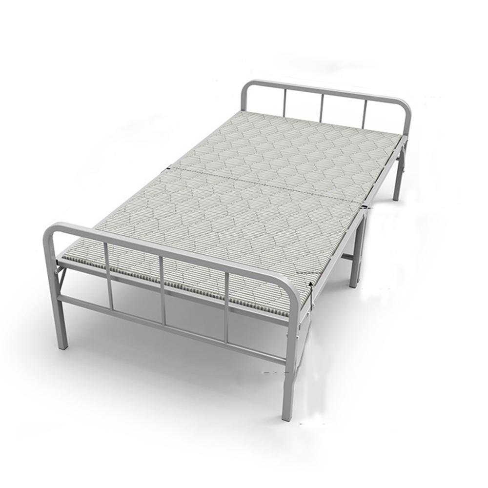Giường ngủ văn phòng gấp gọn cỡ lớn 190x80x36cm có nệm,có lan can 2 đầu