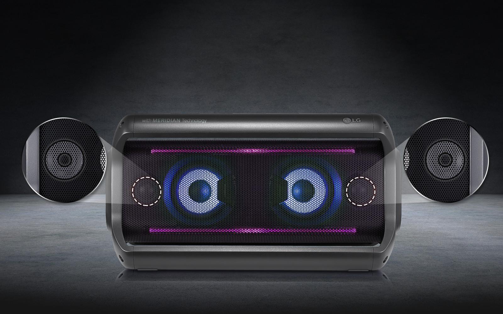 Loa nghe nhạc bluetooth LG PK7 (Pin sử dụng 22h) - Hàng chính hãng