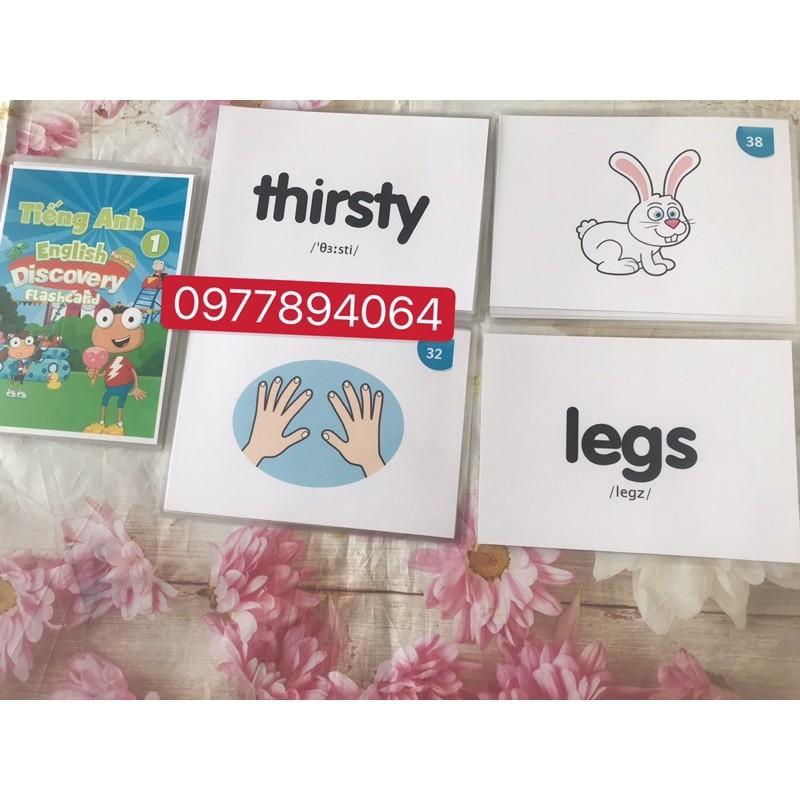 Flashcards Tiếng Anh lớp 1 mới nhất 2020️