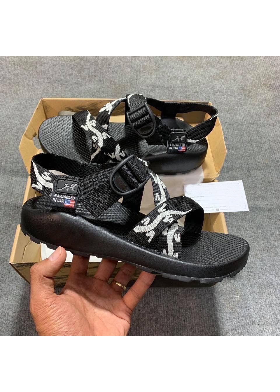 Giày Sandals Nam Quai Dù Kiểu Dáng Hàn Quốc Mã D155