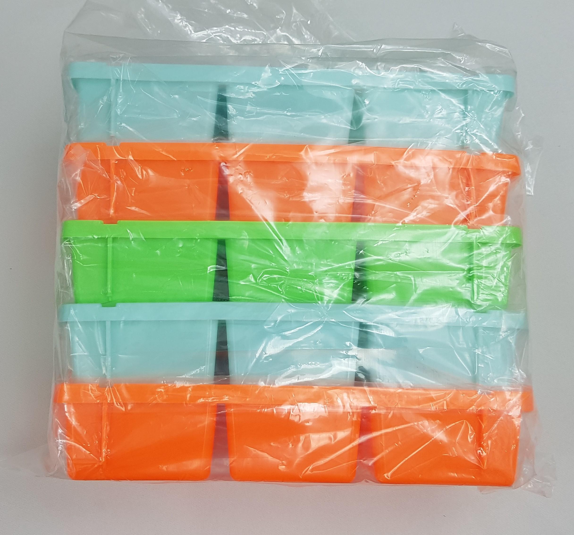 Lốc 5 Khay đá nhựa 6 viên