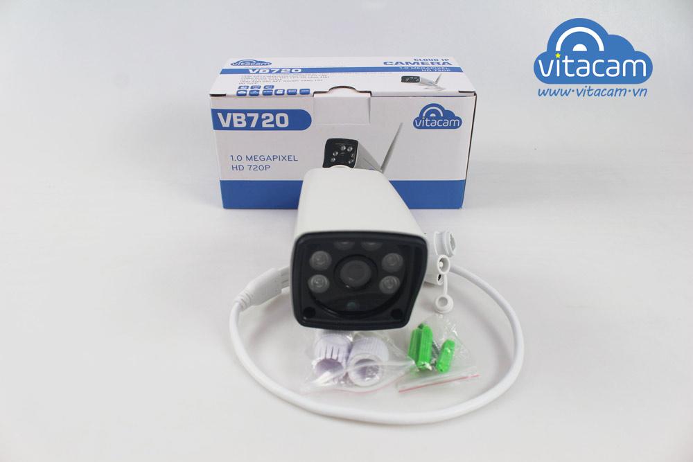 Camera IP Wifi cao cấp Vitacam VB720 (Camera ngoài trời) - Hàng chính hãng