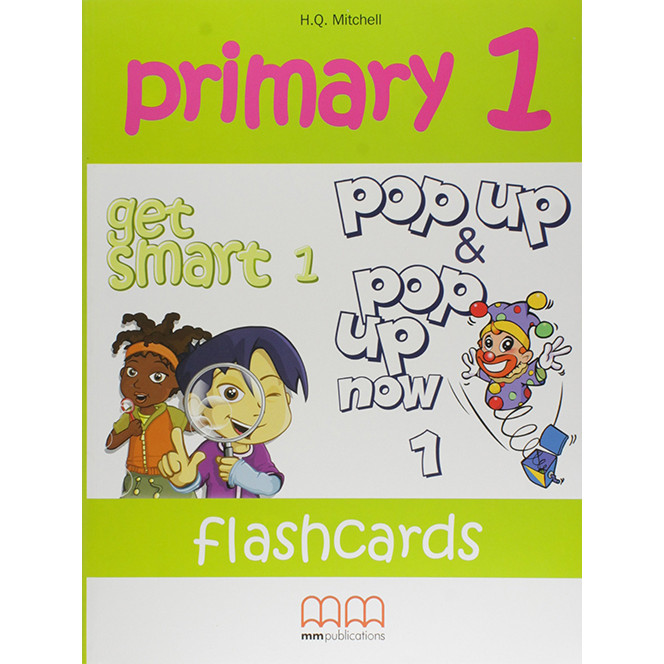 MM Publications: Sách học tiếng Anh - Primary 1 Flashcards