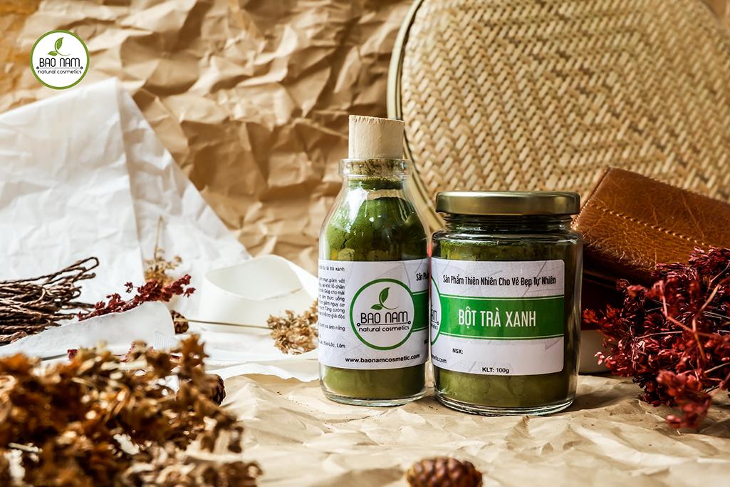 Bột trà xanh nguyên chất Bảo Nam 100gr