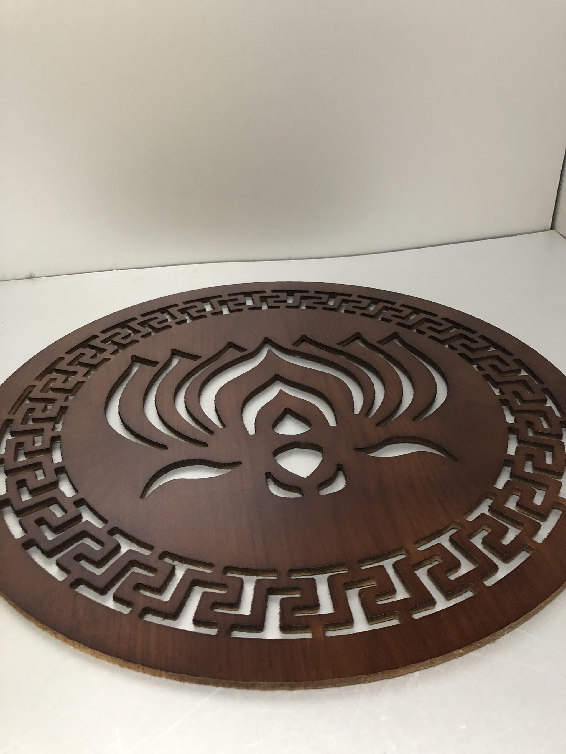 Tấm trang trí mẫu hoa sen dành cho bàn thờ treo tường - TL22