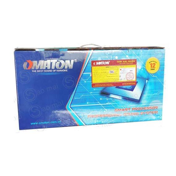 Mixer Karaoke - Vang cơ Bluetooth chống hú OMATON MX-6200FX có cổng quang Optical USB - Hàng chính hãng - Tặng jack canon dây AV 4 đầu bông sen