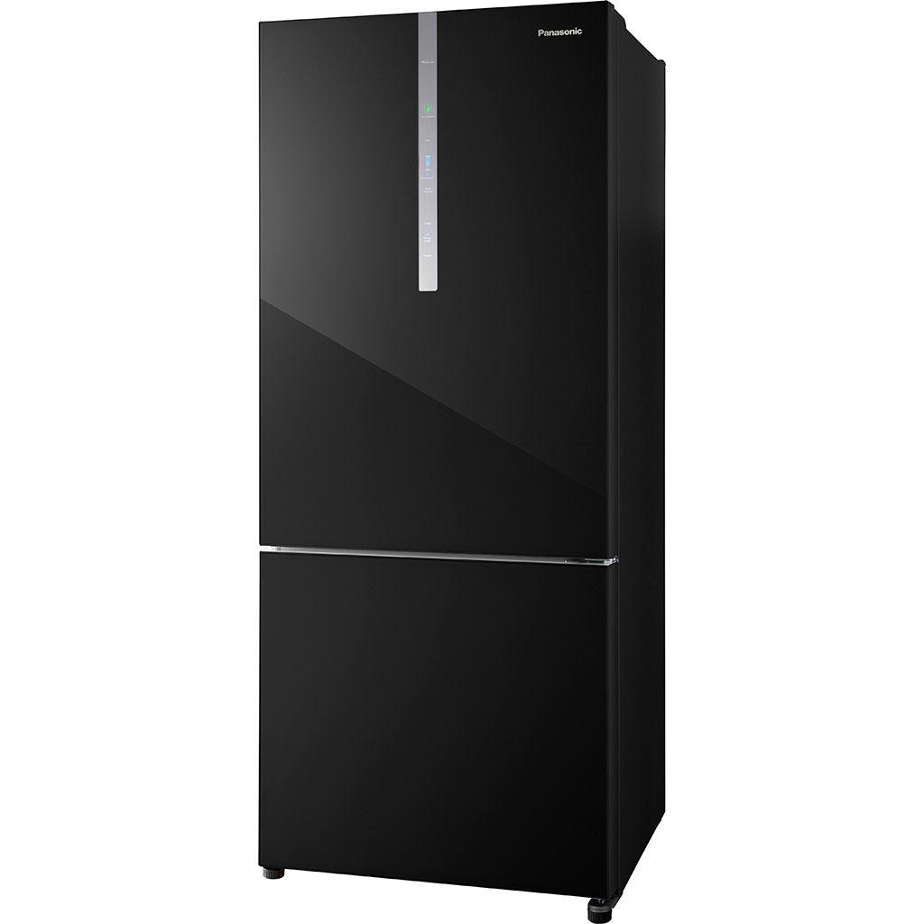 Tủ lạnh Panasonic NR-BX421WGKV 380L 2 cánh inverter ngăn đá dưới - Hàng chính hãng - Chỉ giao tại Hà Nội