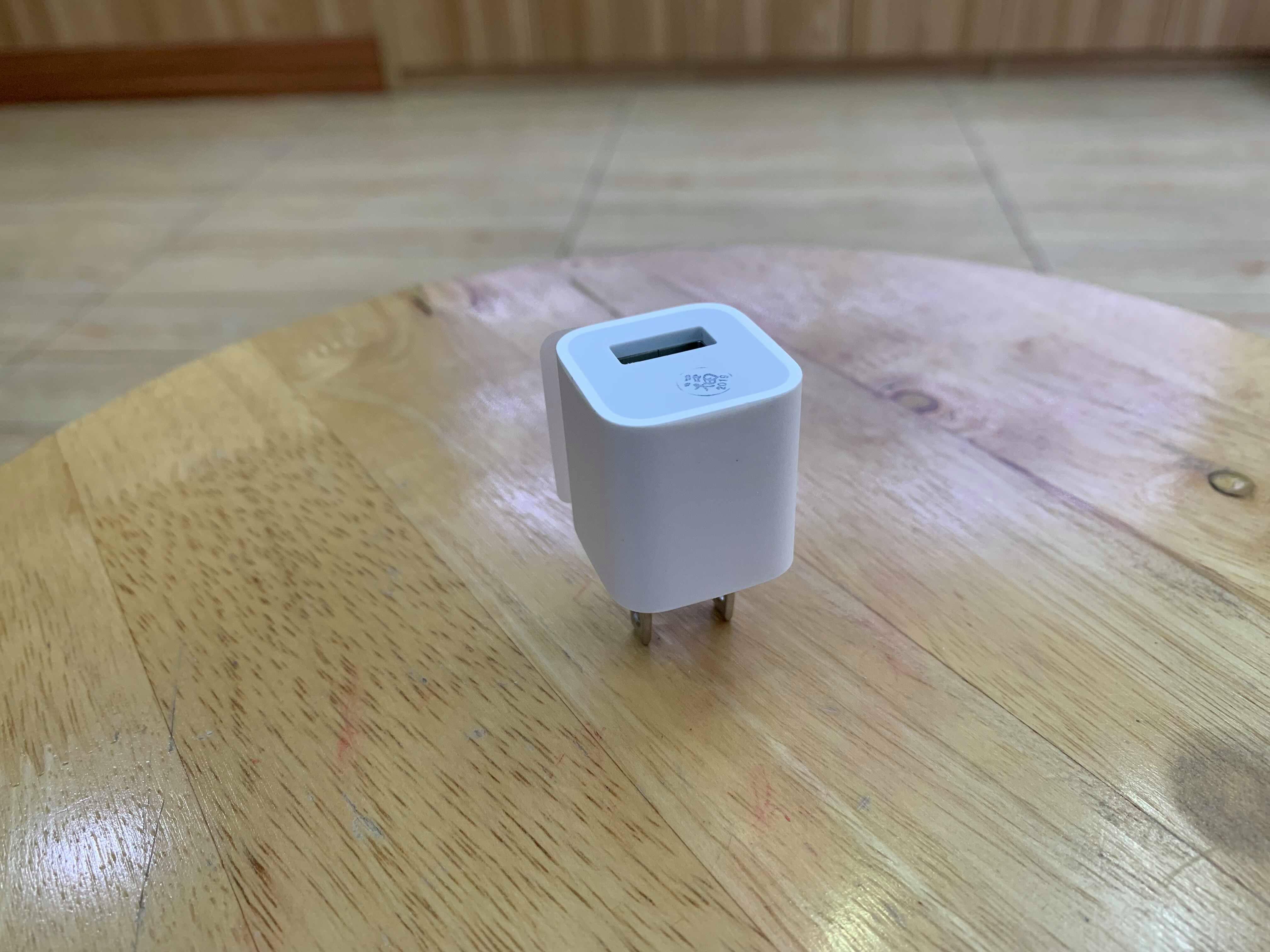 Adapter củ sạc iPhone Zin loại vuông 5V-1A