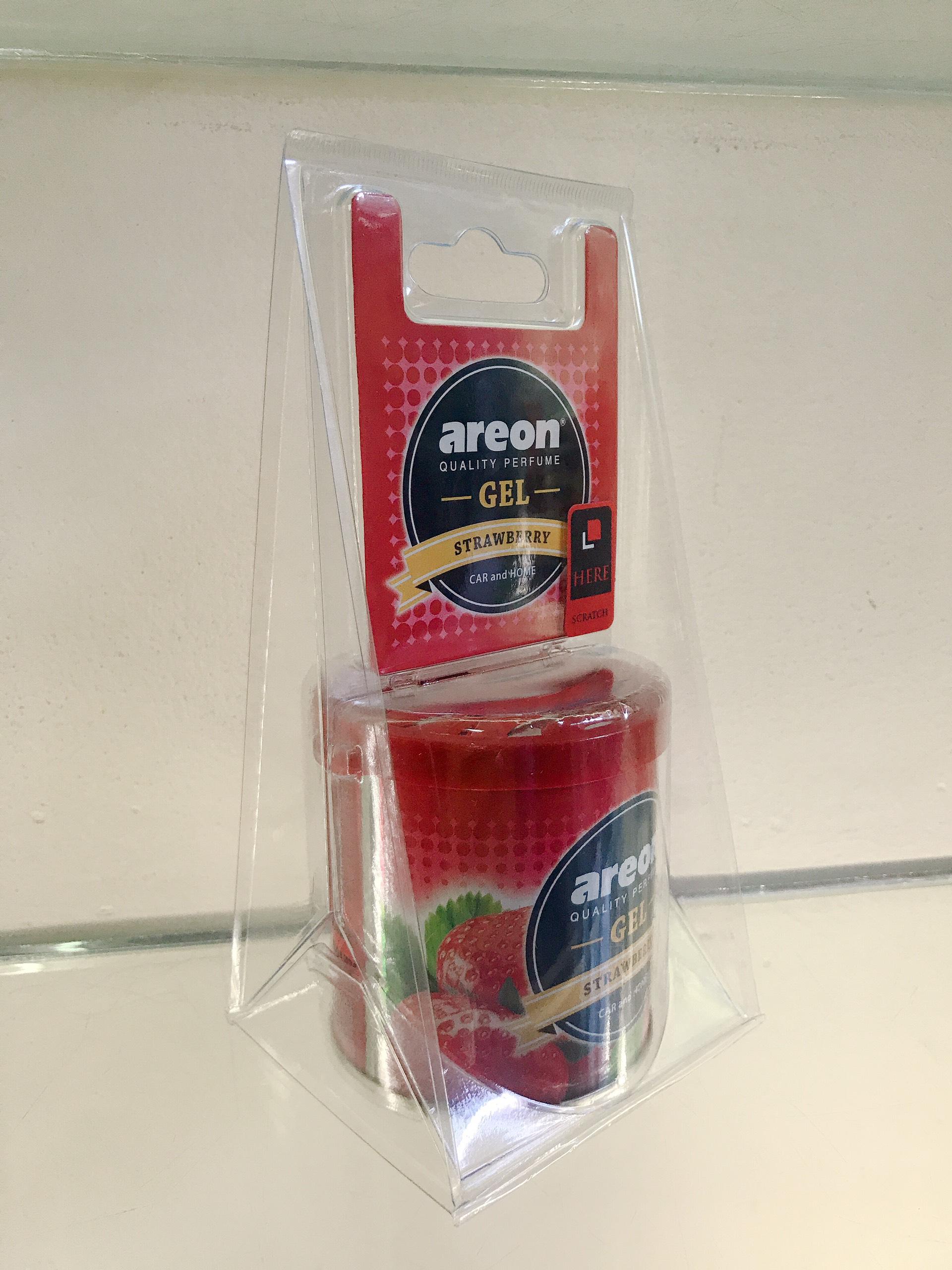 Gel Hương Dâu – Areon Gel Strawberry (Ngọt nhẹ)