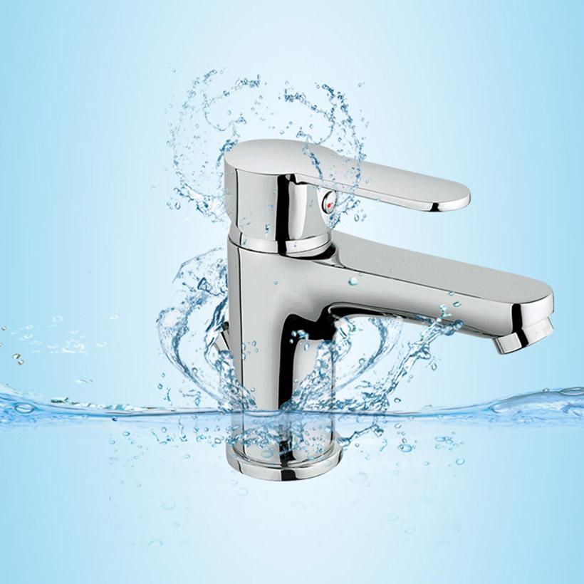 Vòi chậu lavabo LOGIC 22028CR iCrolla - Hàng Chính Hãng