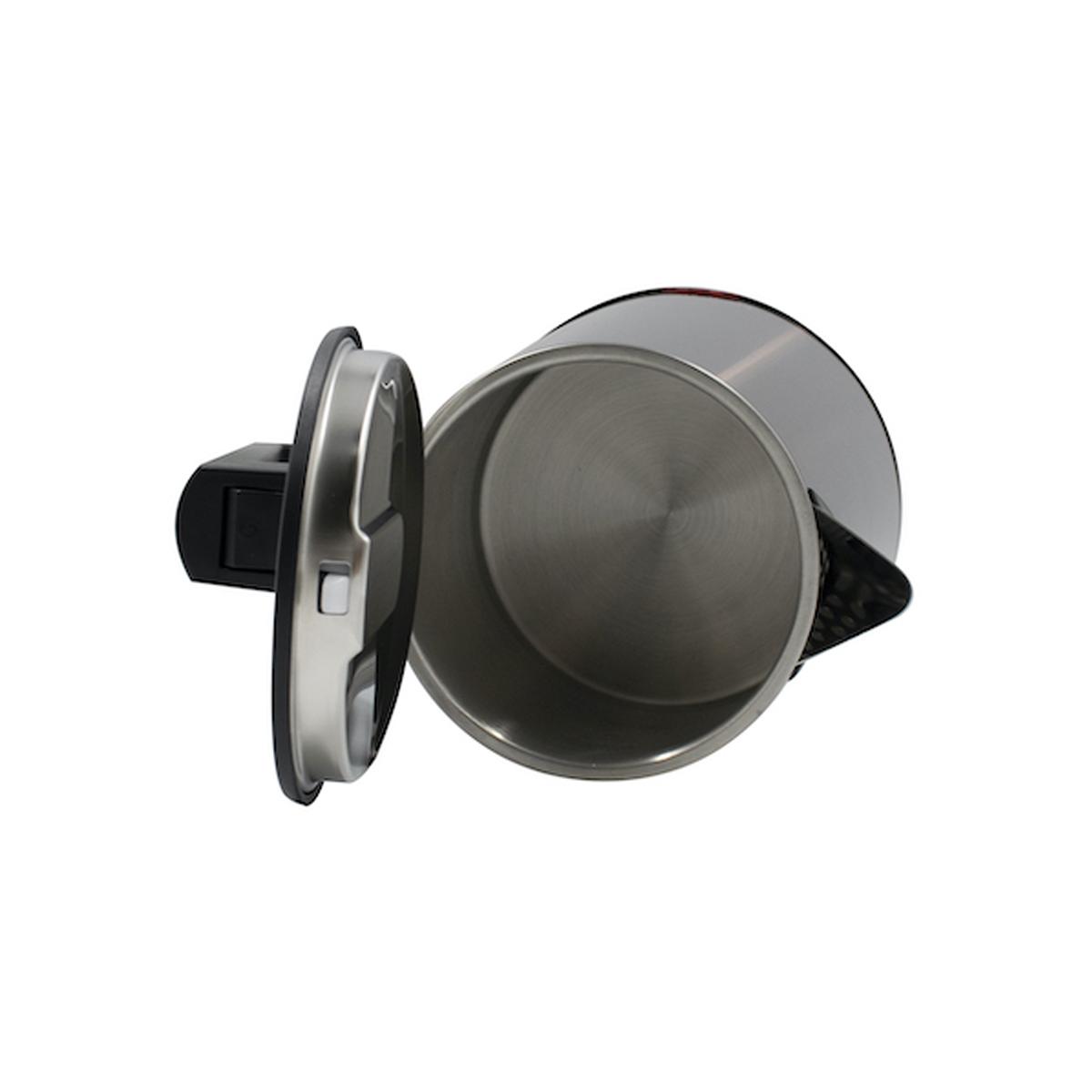 Ấm đun siêu tốc 2 lớp cách nhiệt Lock&Lock EJK631BLK (1.7L) Màu đen - Hàng chính hãng, thân bình bằng thép không gỉ, tay cầm làm bằng nhựa PP, tự động ngắt điện khi sôi