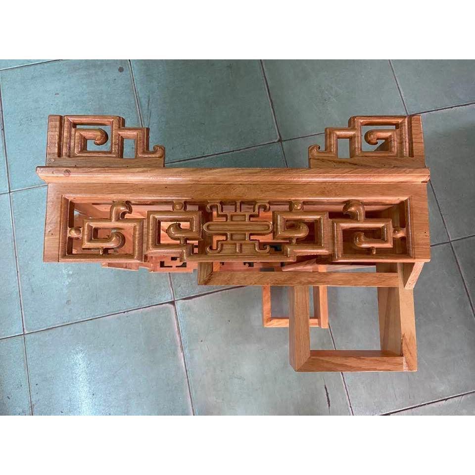 Bàn thờ treo tường Hoa Sen 60cm cao cấp TTG60SAA