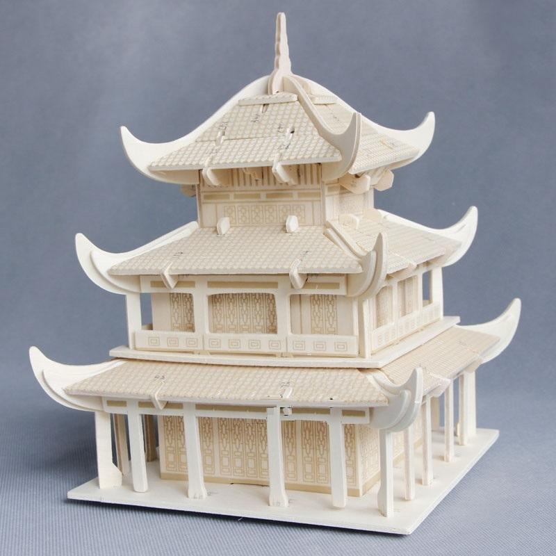 Đồ chơi lắp ráp gỗ 3D Mô hình Nhà Nhạc Dương