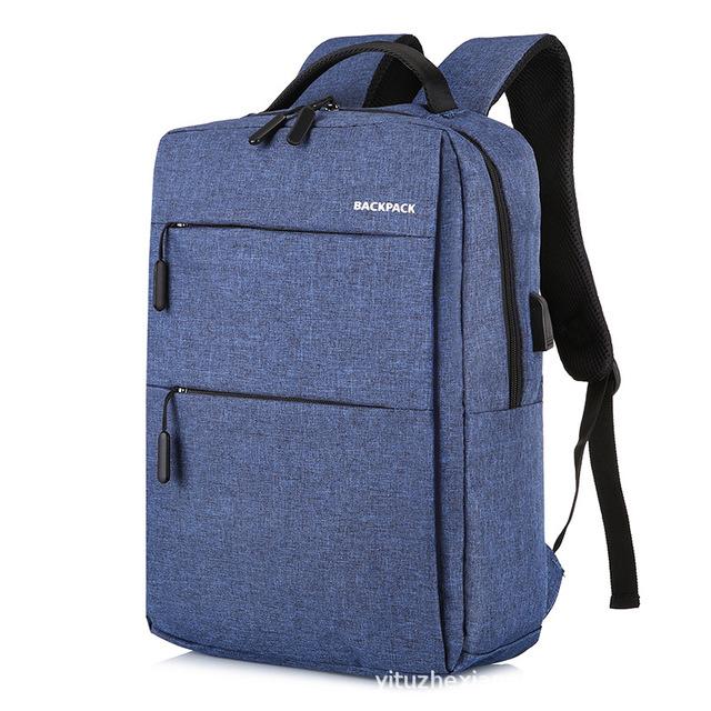 Balo nam, balo laptop, có sạc USB tiện lợi, thời trang, phong cách