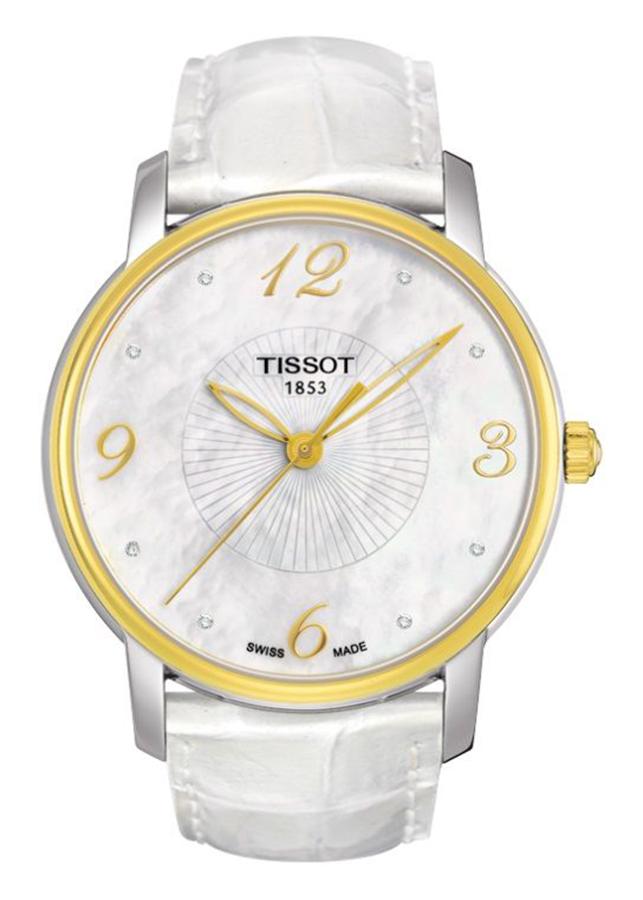 Đồng Hồ Nữ Dây Da Tissot T052.210.26.116.00 (38mm) - Xà Cừ
