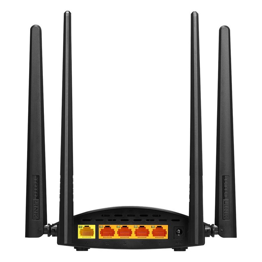 Router Wi-Fi Băng Tần Kép AC1200 Totolink A800R - Hàng Chính Hãng