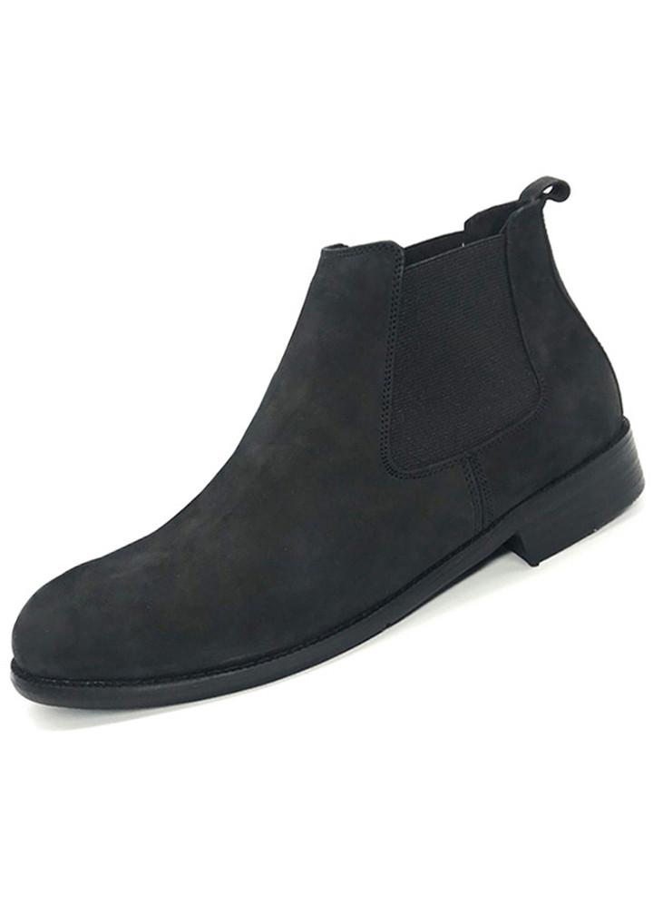 Giày Chelsea Boot nam da nubuck A0011B