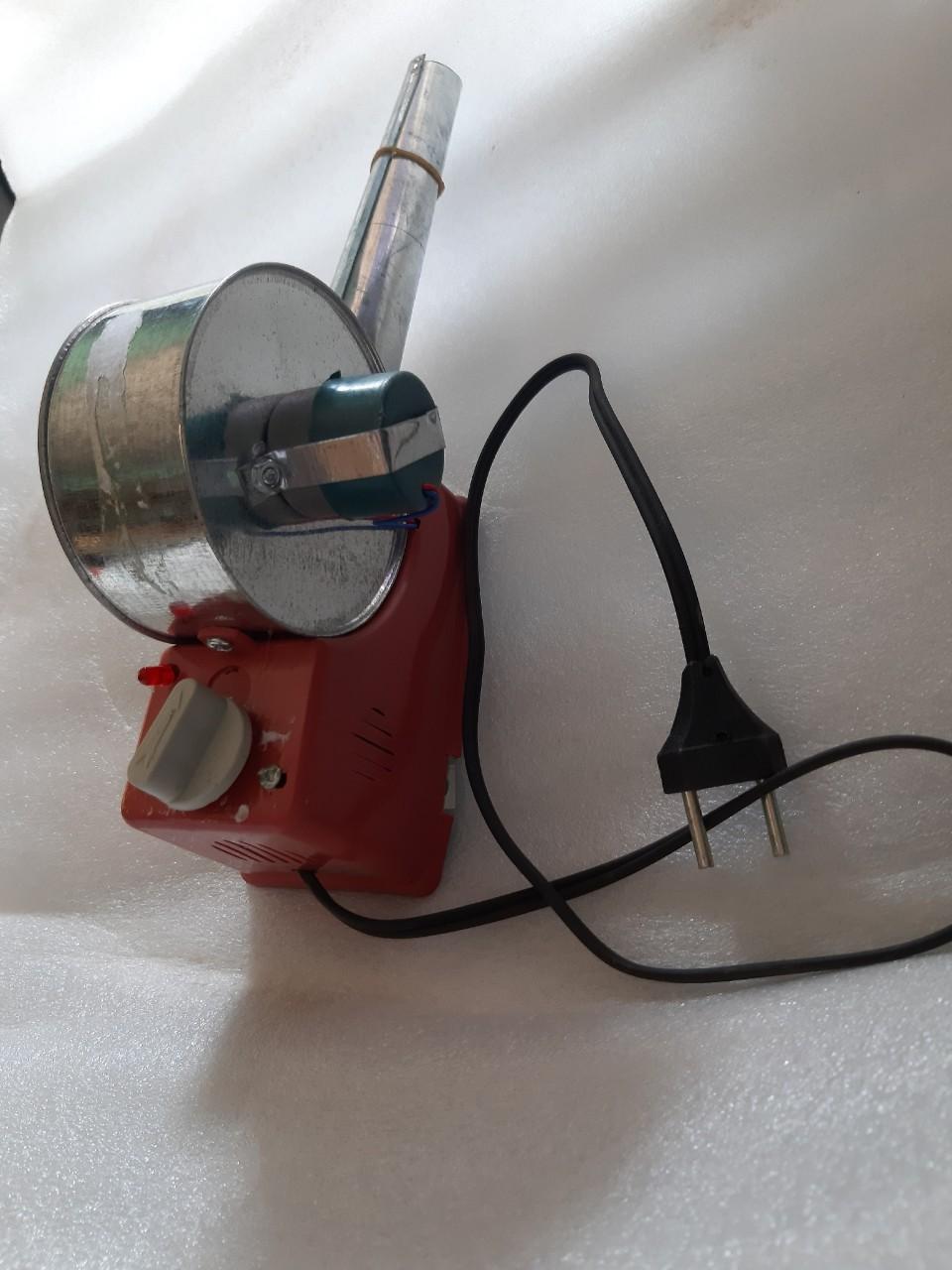 Quạt khò gió mạnh sài bếp nướng than có quạt cấm điện trực tiếp 220v