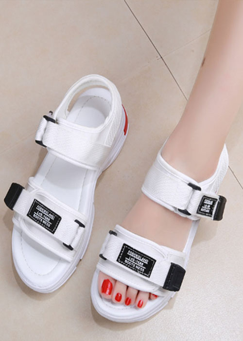 Sandal nữ thời trang để đỏ tăng chiều cao