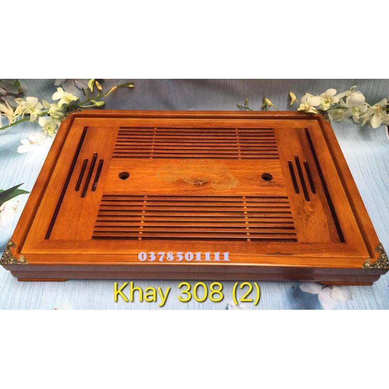 Khay trà gỗ cao cấp 308