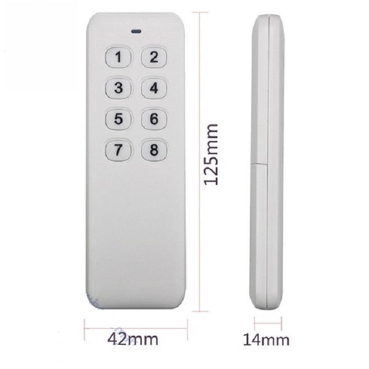 Remote điều khiển từ xa 8 nút R2.6