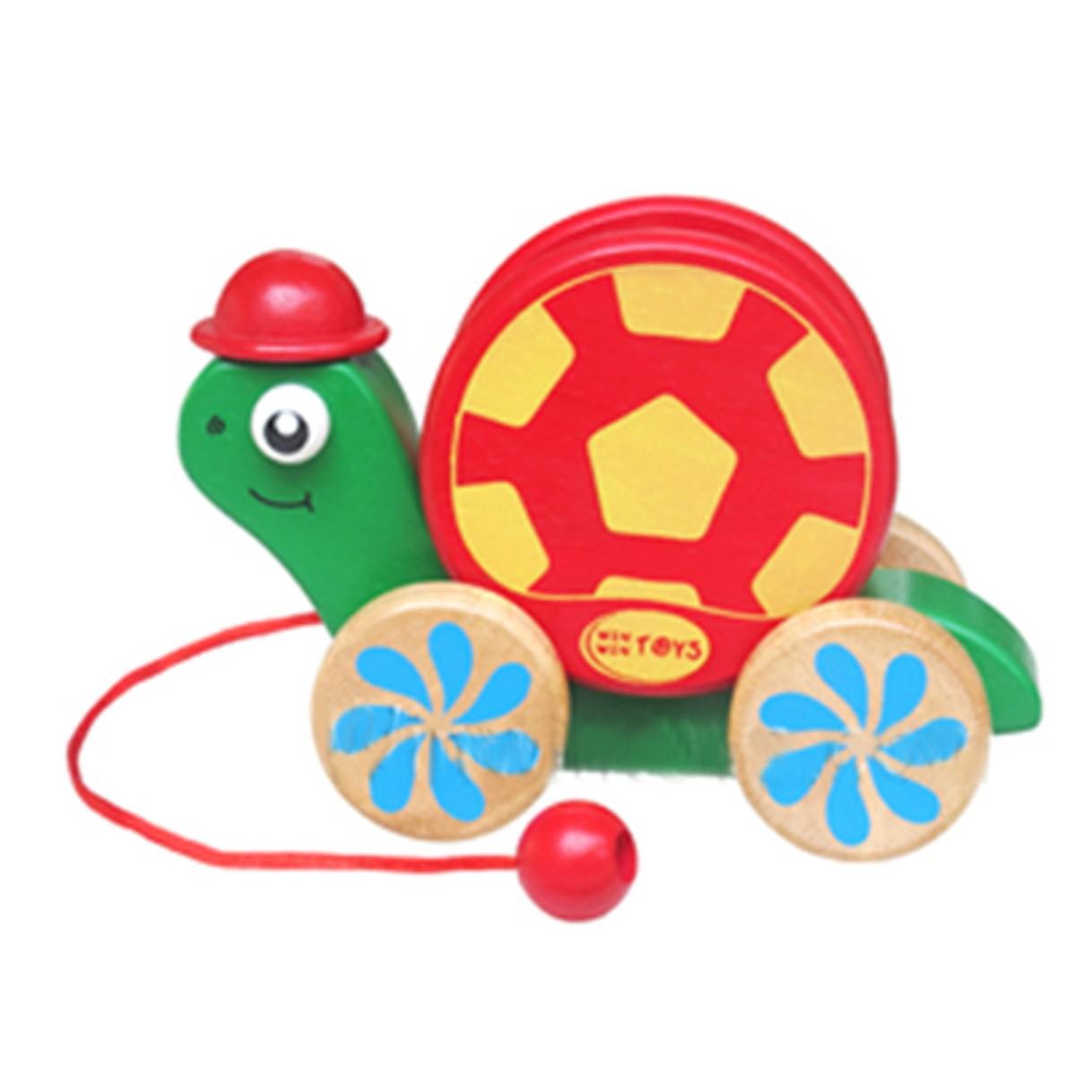 Rùa Con Vui Vẻ Mk - Đồ chơi gỗ