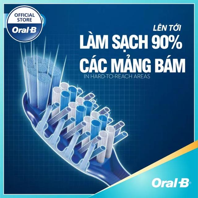 (Gift) Bàn Chải Đánh Răng Oral-B Tinh Chất Trà Đen Bảo Vệ Nướu Răng 200098905