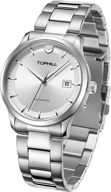 Đồng hồ nam máy cơ tự động Thụy Sĩ TOPHILL TW076G.S1658