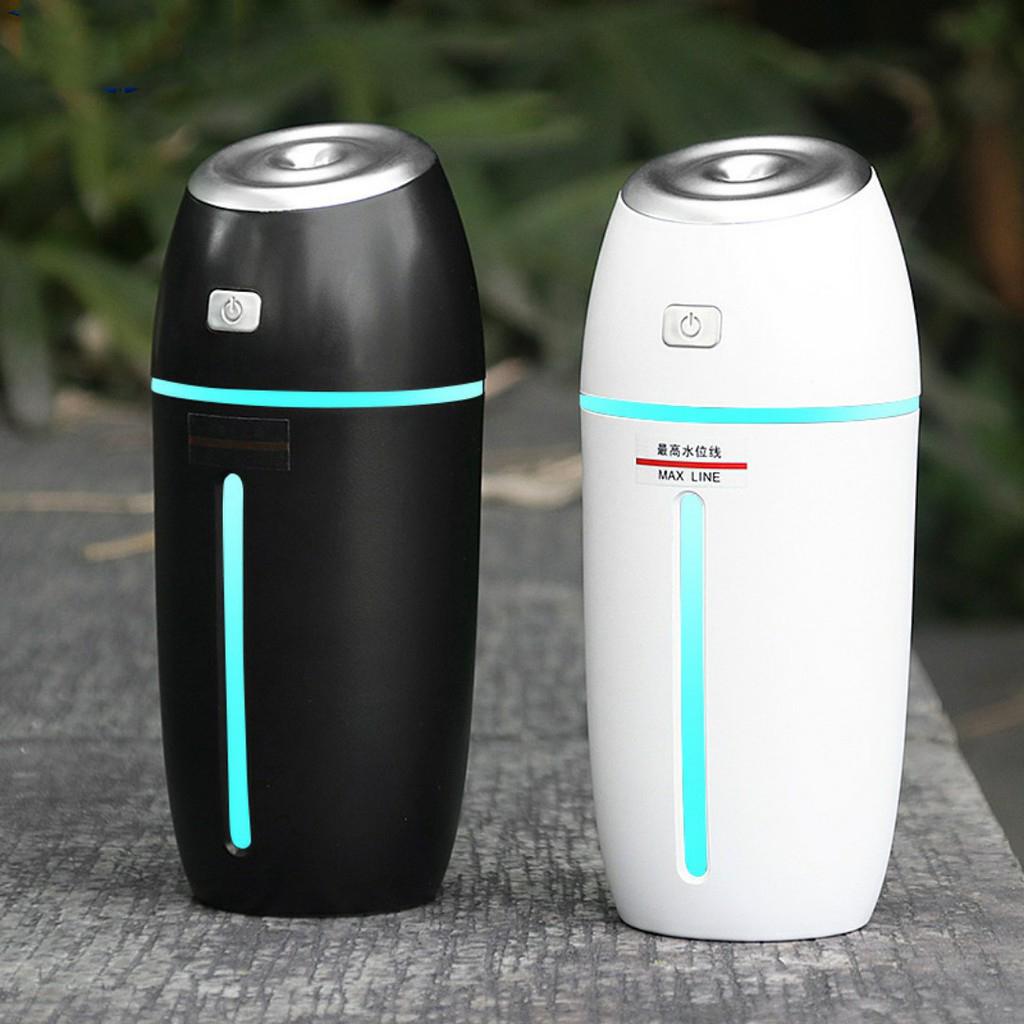 Máy phun sương tinh dầu thơm có đèn LED nhiều màu, Giúp thanh lọc không khi, lan tỏa mùi hương dễ chịu, an toàn dễ sử dụng, không gây tiếng ồn