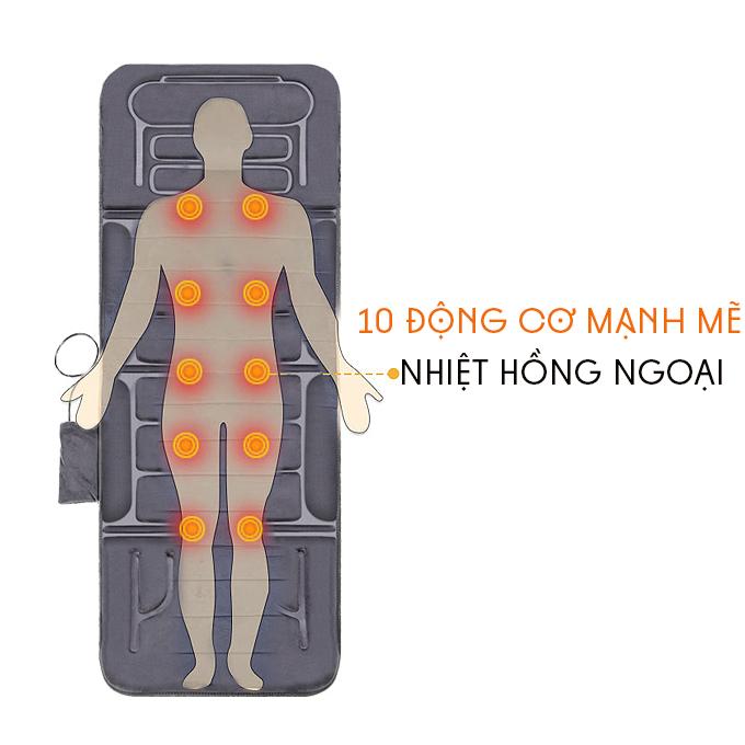 Nệm massage toàn thân Fuki Japan FK-M699