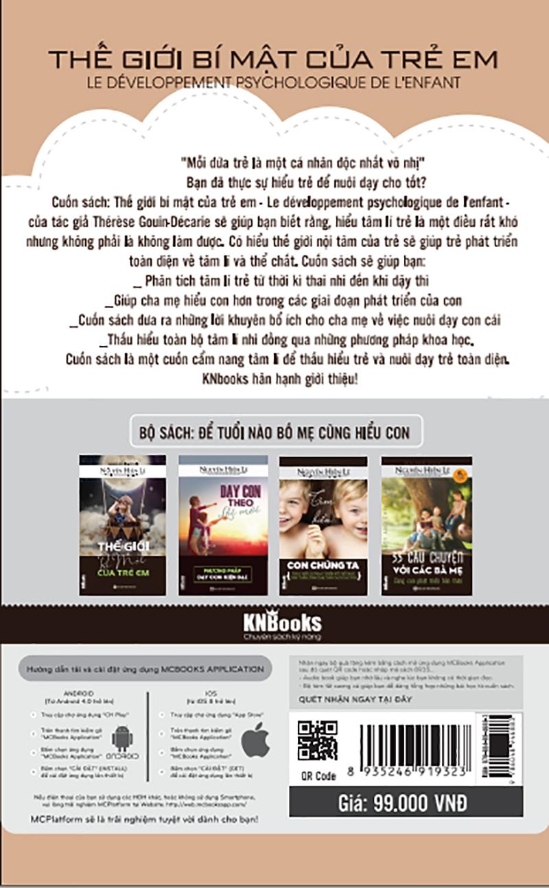 Thế Giới Bí Mật Của Trẻ Em (Bộ Sách Cha Mẹ Khéo - Con Thành Công) tặng kèm bookmark