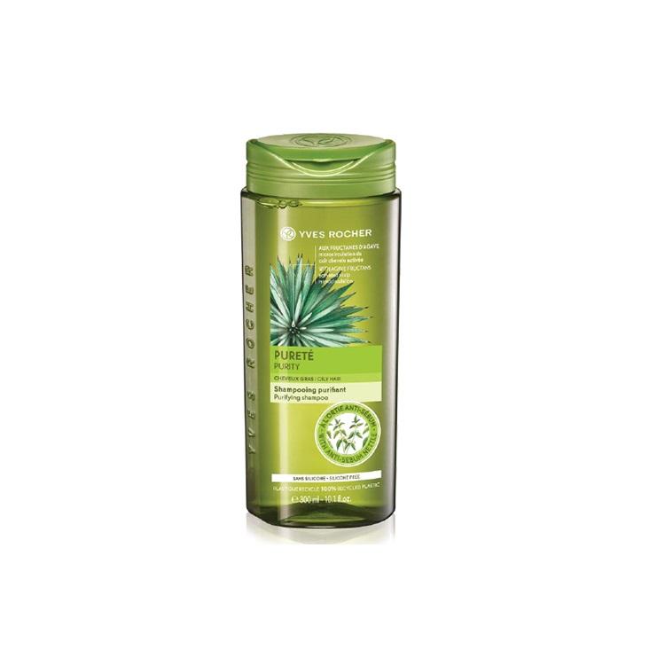 Dầu Gội Dành Cho Tóc Dầu Yves Rocher Purity Oily Hair Purifying Shampoo 300ml