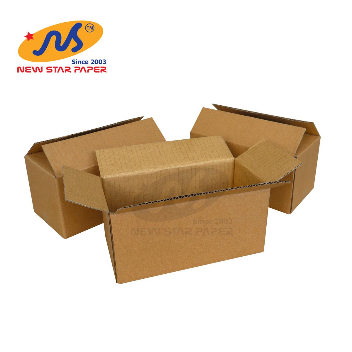20x10x10 - Combo 10 thùng giấy carton gói hàng