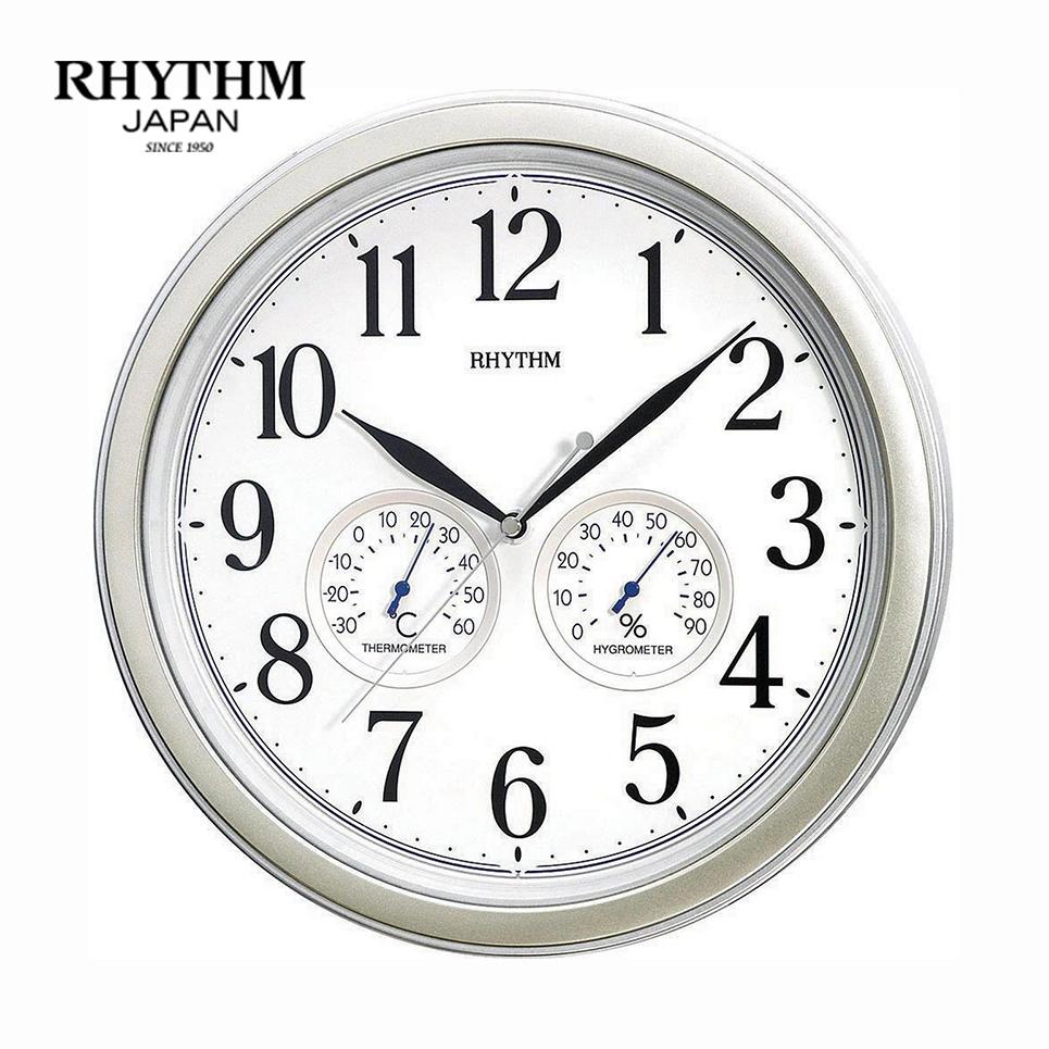 Đồng hồ treo tường Japan Rhythm 8MGA26WR19 Kt 33.0 x 4.7cm. Nhiệt độ, độ ẩm.