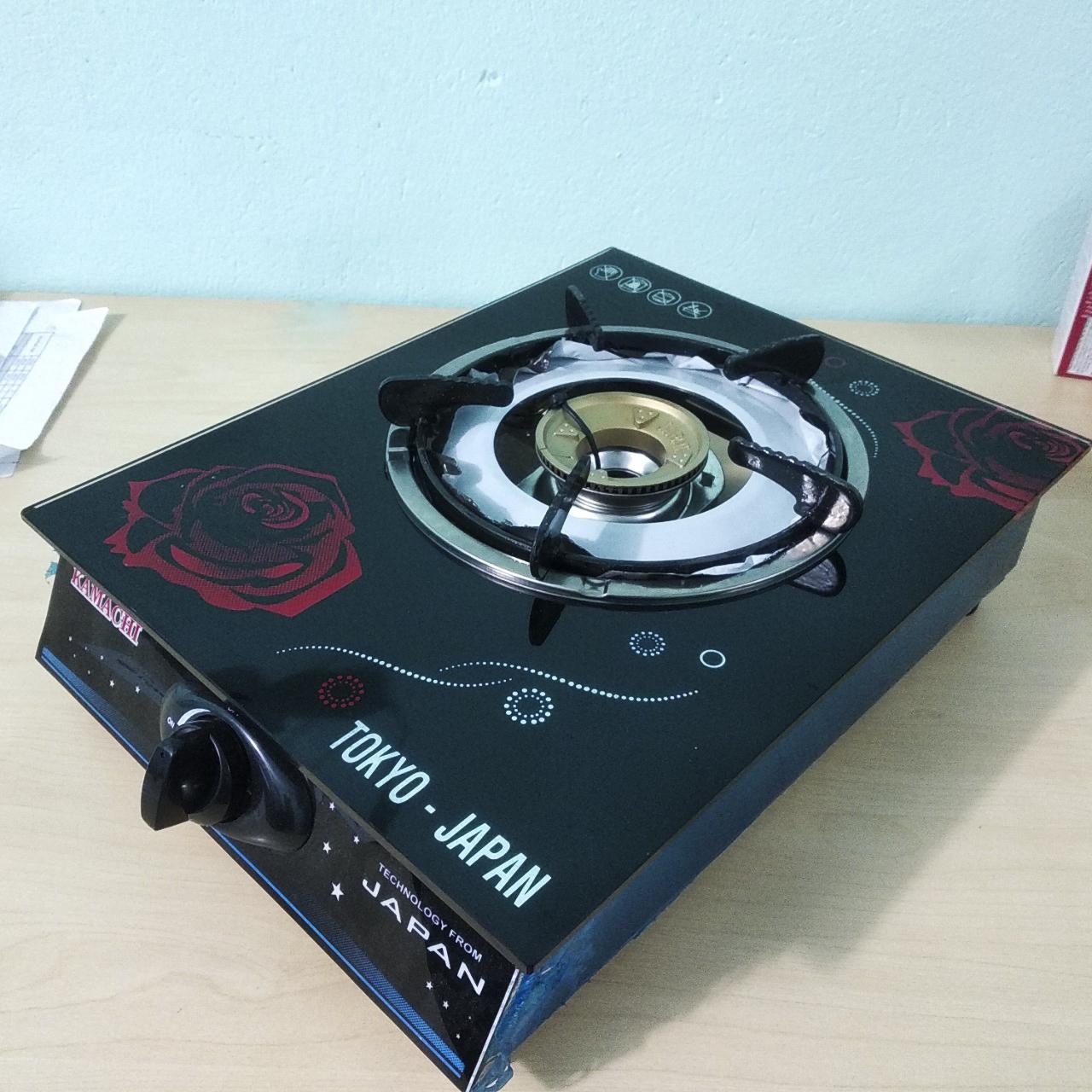 Bếp ga 1 lò nấu điếu đồng KMC-Đồng, tiết kiệm ga mẫu ngẫu nhiên-Hàng chính hãng